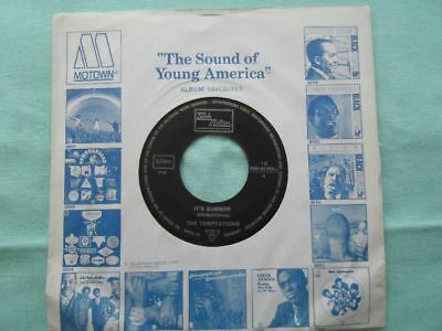 The Tempations - Its summer - Vinyl Single SOUL