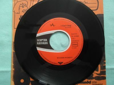 Wilson Pickett - I cant stop - Vinyl Single SOUL