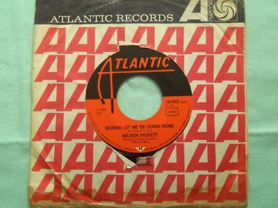 Wilson Pickett - woman let me be down home- Vinyl Single SOUL