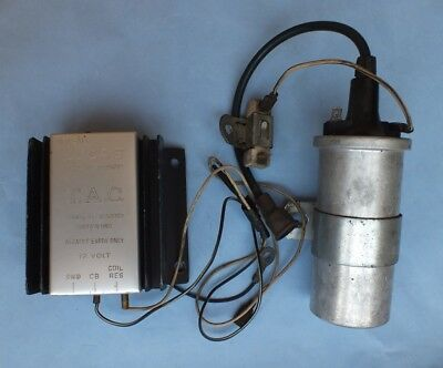 """AFTERMARKET ELECTRONIC IGNITION """"Lucas"""" FOR 60-70's CARS accensione elettronica"""