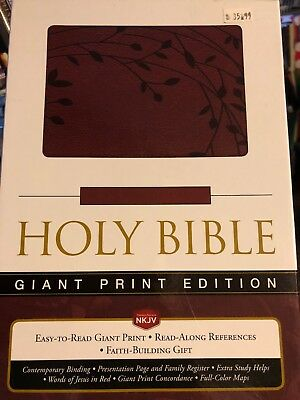 NKJV Giant Print Edition Holy Bible
