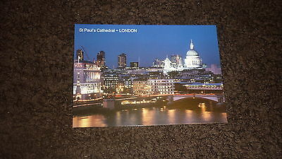 Postcard - St Paul's Cathedral, London - UK