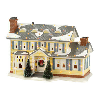 Department 56  Christmas Vacation Griswold Holiday Home  Porcelain Village House