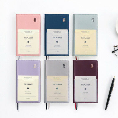 2019 Iconic Planner Small Diary Journal Schedule Book Scheduler Organizer