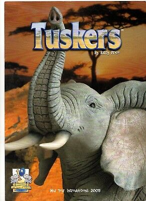 Barry Price Tuskers Mid Year 2005 Introductions Collectors Catalogue