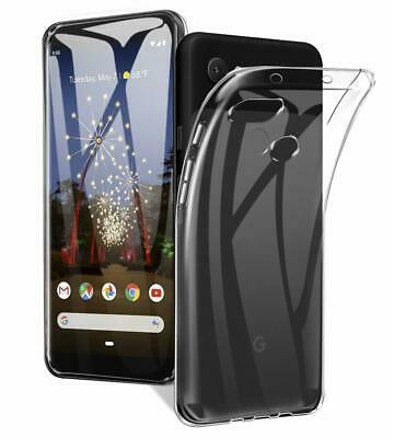 For Google Pixel 3A 3A XL & 3 2 XL Clear Case, Soft Gel Shockproof Bumper Cover