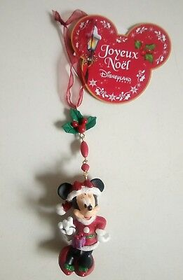 Decoration De Noel Minnie Disneyland Paris Eur 15 00 Picclick Fr