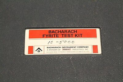 2 Barcharach Fyrite Gas Analyzers Co2 Or O2 in case