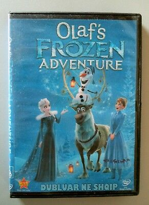 Olaf's Frozen Adventure. Animated DVD in Albanian language. Shqip