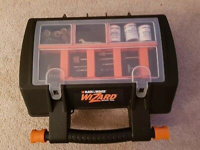 Black & Decker Wizard rotary tool RT550 with carry case & attachments
