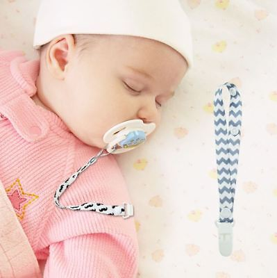 3Pcs Baby Pacifier Chain Clip Holder Nursing Teether Dummy Soother Dummy Strap