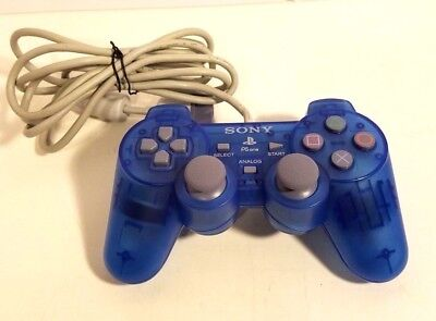 Official OEM Sony Playstation Blue Controller 1 PS1 PSone  SCPH-110