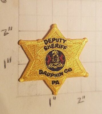 DAUPHIN COUNTY (HARRISBURG, PA) Sheriff's Office DEPUTY Patch - Small  ***NEW***