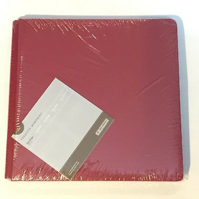 NIP Creative Memories 12x12 True Size Cranberry Ruby Red Album Coverset
