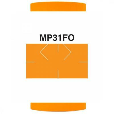 Fluorescent Orange Pricing Labels to fit Monarch 1131 Pricers. 8 Rolls with...