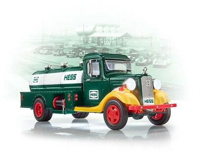 2018 Collector's Edition Hess Truck 85Th Anniversary! Sold Out! Nib