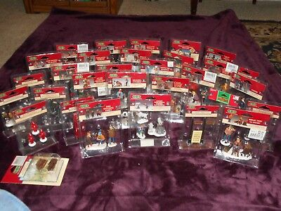 """Lemax Village Accessories """"u Pick The Ones You Want From  Inventory Of 31 """" Nip"""