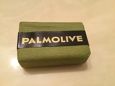 Vintage Sealed ~ PALMOLIVE Bath Size Bar Soap ~ Colgate Palmolive Jersey City