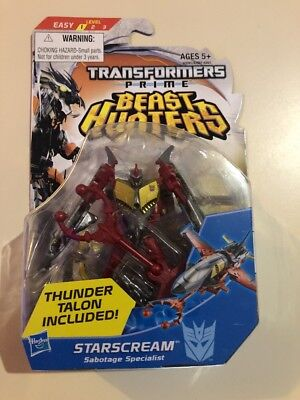 Transformers Prime Beast Hunters Starscream Commander Class Figure