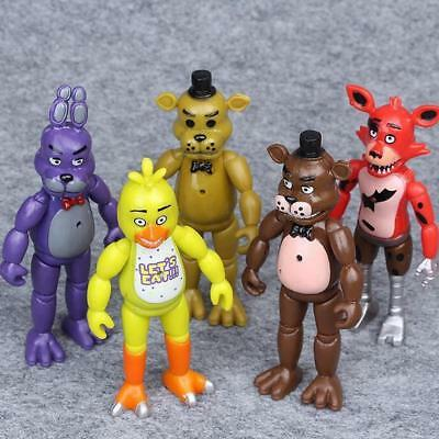 Five Nights At Freddy's Action Figure Kids Plush Toys Foxy Freddy Chica Toy Gift