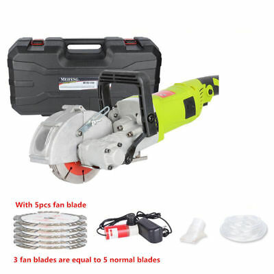 220V Wall Slotting Machine Concrete Groove Cutting Machines Electric Wall Chaser