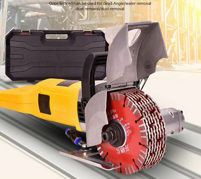 220V Electric Wall Chaser Groove Cutting Machine Steel Concrete Slotting Machine
