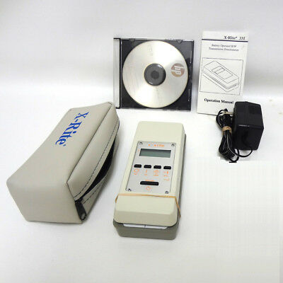 X-rite 331 Transmission Densitometer Very recent model B/W Xrite 331 Excellent.