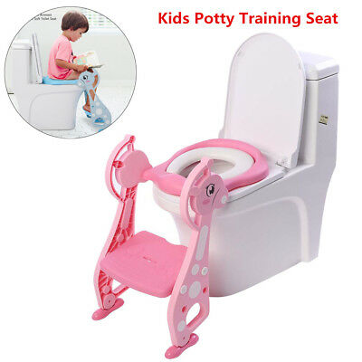 Magnificent Cute Kids Potty Training Seat With Step Stool Ladder Child Creativecarmelina Interior Chair Design Creativecarmelinacom