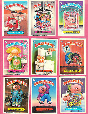 1987 Topps Garbage Pail Kids Cards (Appx 110 cards) #6