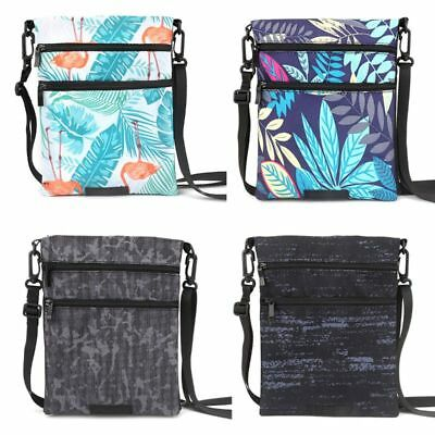 Travel Neck Pouch Passport Cards Holder Shoulder Bag Crossbody Hidden Wallet