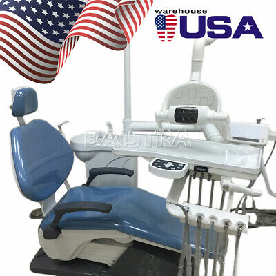 Portable Dental Unite Folding Chair Computer Controlled Scaler LED Curing Light