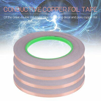 4X Conductive Copper Adhesive Foil Shielding High Heat Temperature Tape 1