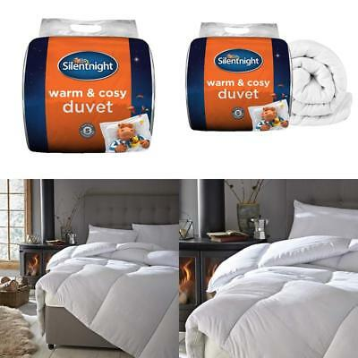Silentnight Warm And Cosy 15 Tog Winter Duvet Double Size Machine Washable