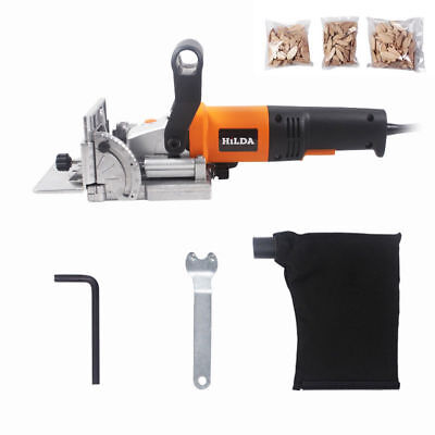 220V Electric Woodworking Tenoning Machine Biscuit Jointer Wood Puzzle Machine