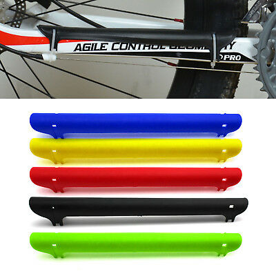 MTB Bicycle Road Bike Chain Chainstay Protector Plastic Care Cover Guard Wrap *1