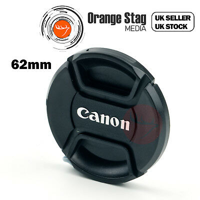 for Canon 62mm lens cap, Centre Pinch for Lenses with 62mm filter thread