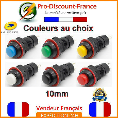 Bouton Poussoir Interrupteur 5v - 36v Arduino Voiture 12v Electronique Switch