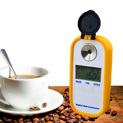 Digital Coffee Brix Refractometer Portable Coffee Concentration Refractometer