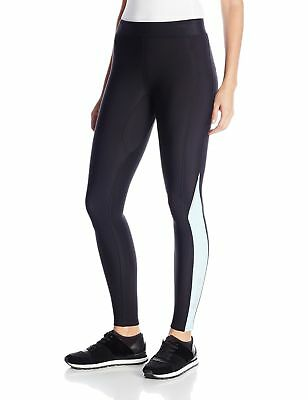 SKINS Women's A200 Thermal Compression Long Tights, Black/Glacier, Small