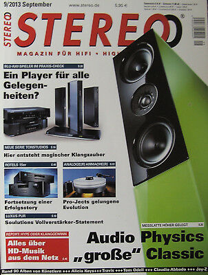 Stereo 9/13 Rotel RCD-1570 / RA-1570, Audio Physics Classic 30, Pro-Ject RPM 9.2