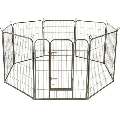 Large animal puppy enclosure playpen fence free running cage dog height: 100 cm