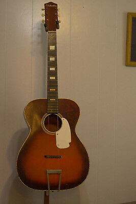 1963 Silvertone flat top guitar for project or restoration