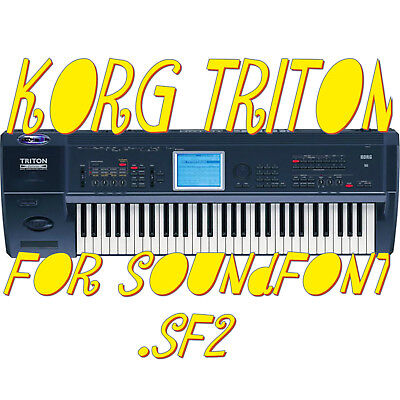 KORG TRITON EXTREME Samples Sounds SoundFont SF2 vst-store norCtrack