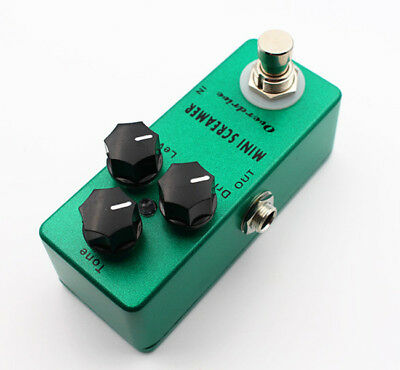 Upgraded mini TS9 Overdrive/Distortion Tube Screamer Handmade true bypass