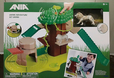 Years T16063 ANIA Safari Adventure Set with White Lion Kids Childrens Toy 3