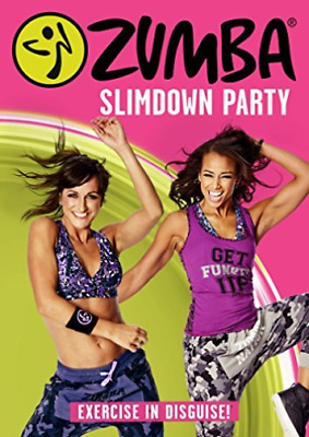 Zumba Slimdown Party Limited Edition Dvd New