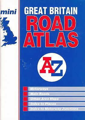 Great Britain Mini Road Atlas - Geographers A-Z Map Company - Good - Paperback
