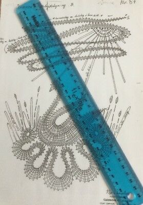Bobbin Lace Making Pattern SWAN