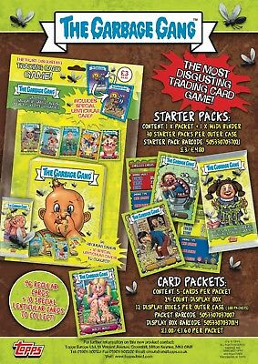 TOPPS The Garbage Gang Trading Cards (2018)  Single Cards - Garbage Pail Kids