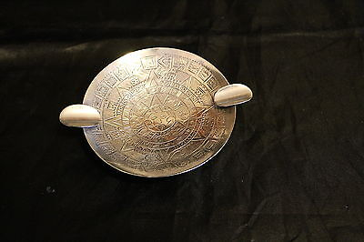 Vintage Sanborn Mexico Sterling Footed Ashtray
